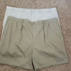 Two pair of men's casual shorts